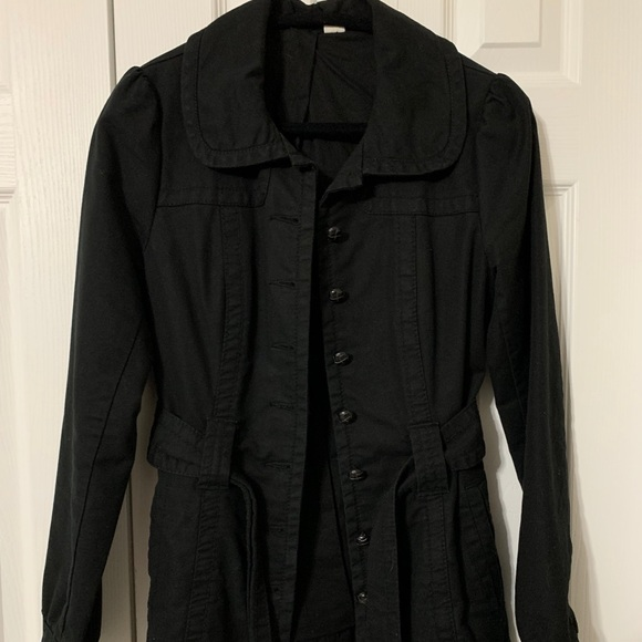 2/$50 Black button up jacket